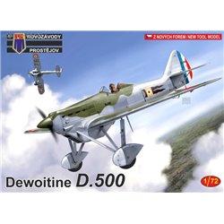 Dewoitine D.500 - 1/72 kit