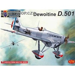 Dewoitine D.501 - 1/72 kit