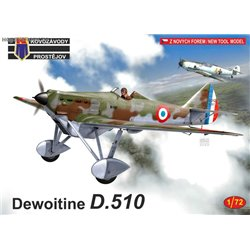 Dewoitine D.510 - 1/72 kit