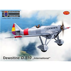 Dewoitine D.510 International - 1/72 kit