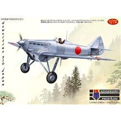 Dewoitine D.510 Japan - 1/72 kit
