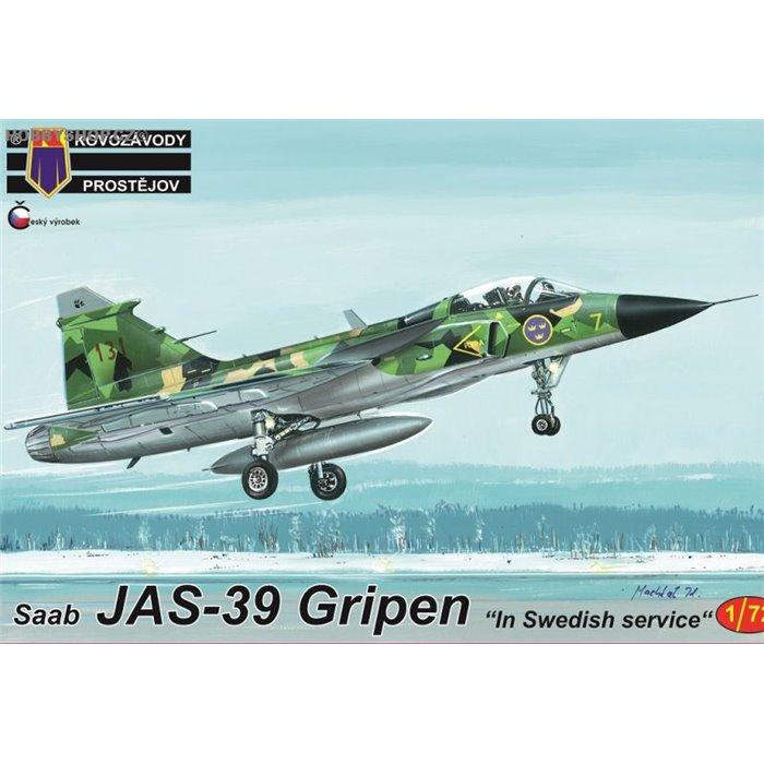 """JAS-39 Gripen """"In Swedish service"""" - 1/72 kit"""