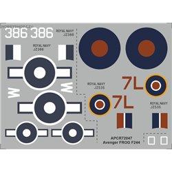Avenger - 1/72 obtisk