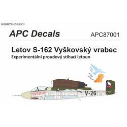 Letov S-162 - 1/72 obtisk