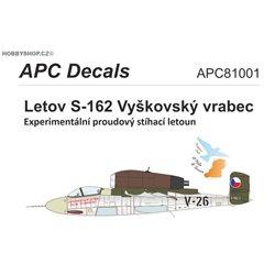 Letov S-162 - 1/144 obtisk