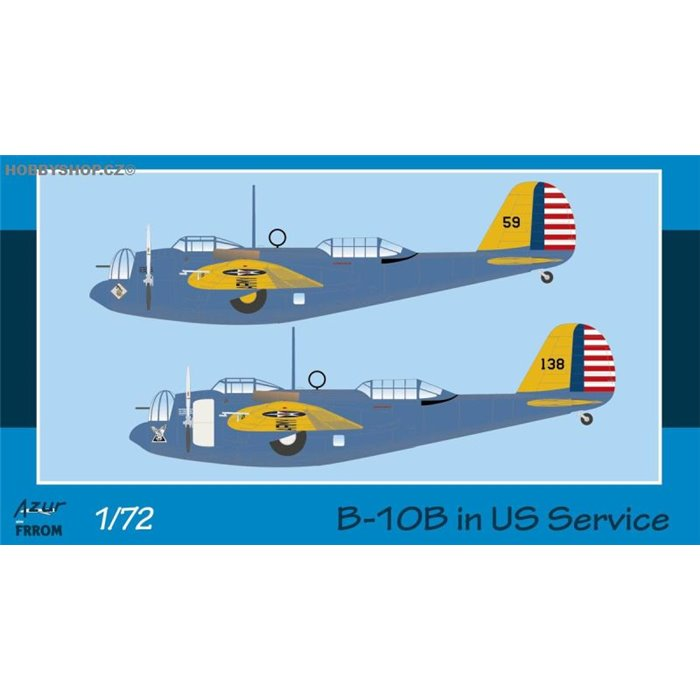B-10B in US Service - 1/72 kit