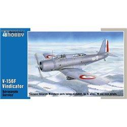 V-156F Vindicator 'Aéronavale Service' - 1/48 kit