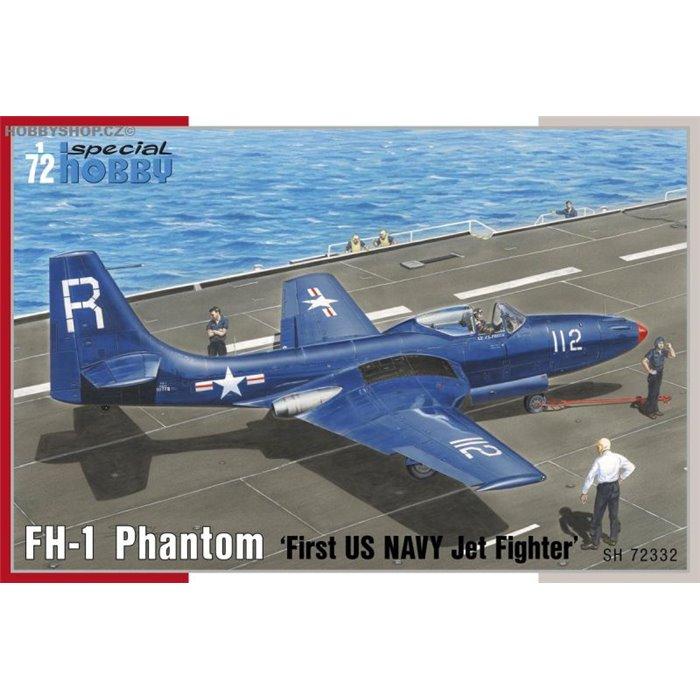 "FH-1 Phantom ""First US NAVY Jet Fighter"" - 1/72 kit"