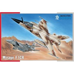 Mirage F.1 CR - 1/72 kit