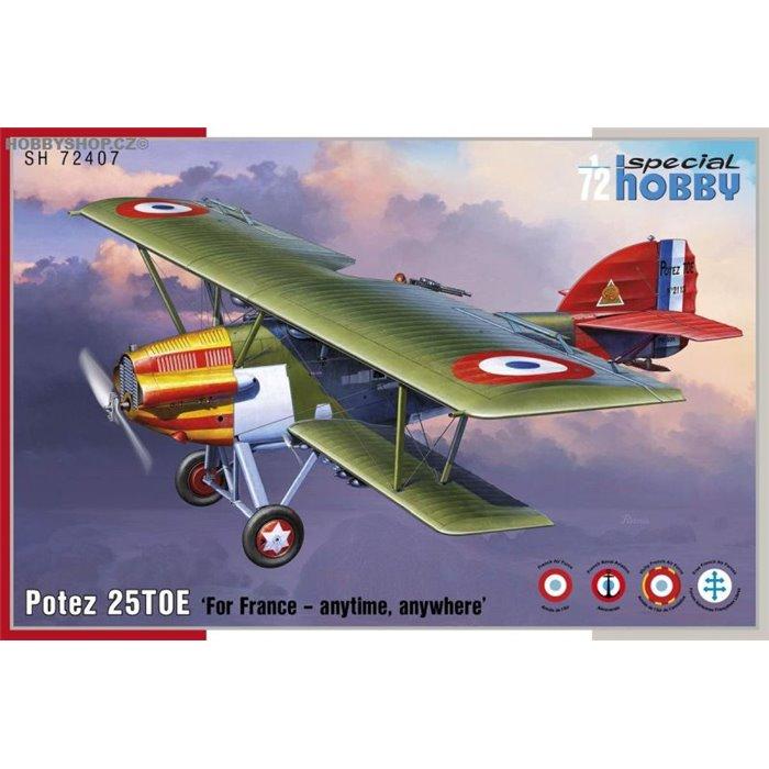 Potez 25 TOE - 1/72 kit
