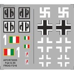 Fiat G.55 - 1/72 obtisk