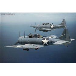 SBD-3 Dauntless MIDWAY - 1/144 kit