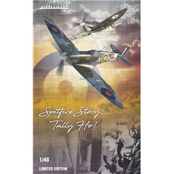 SPITFIRE STORY: Tally ho! DUAL COMBO - 1/48 kit