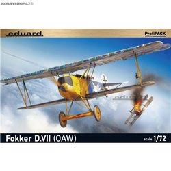 Fokker D. VII (OAW)) ProfiPACK - 1/72 kit