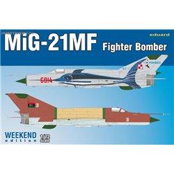 MiG-21MF Fighter-Bomber Weekend - 1/72 kit