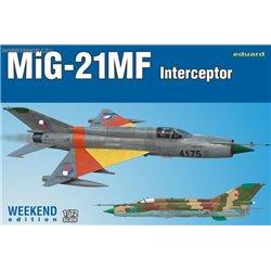 MiG-21MF interceptor Weekend - 1/72 kit