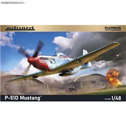 P-51D Mustang ProfiPack - 1/48 kit
