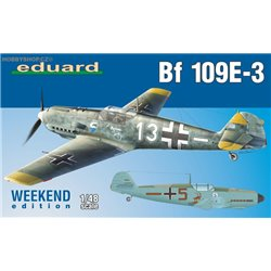 Bf 109E-3 Weekend - 1/48 kit