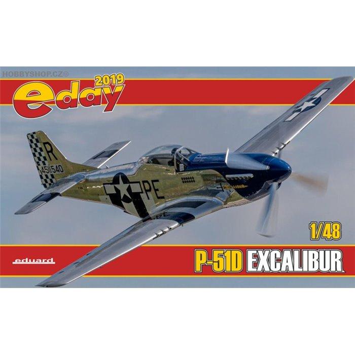 P-51D Excalibur - 1/48 kit