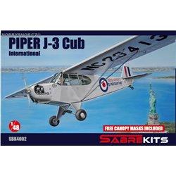 Piper J-3 Cub International - 1/48 kit
