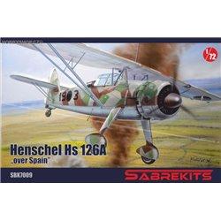 Henschel Hs 126A over Spain - 1/72 kit