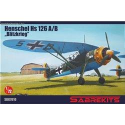 Henschel Hs 126A/B Blitzkrieg - 1/72 kit