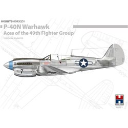 P-40N Warhawk Aces of the 49th FG - 1/48 kit