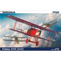 Fokker D.VII (OAW) Weekend - 1/72 kit