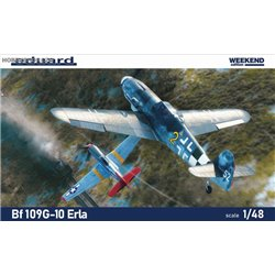 Bf 109G-10 ERLA Weekend - 1/48 kit