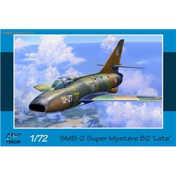 SMB-2 Dassault Super Mystere B2 Late - 1/72 kit