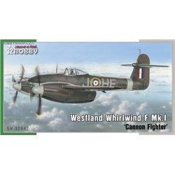 Westland Whirlwind Mk.I Cannon Fightera - 1/32 kit