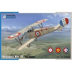 Nieuport 10 Two seater - 1/48 kit
