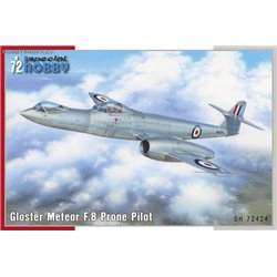 Gloster Meteor F.8 Prone Pilot - 1/72 kit