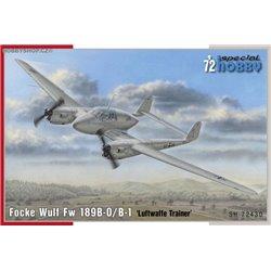 Focke Wulf Fw 189B-0/B-1 'Luftwaffe Trainer' - 1/72 kit