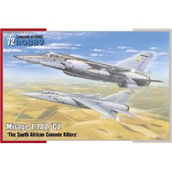 Mirage F.1AZ/CZ 'The South African Commie Killers' - 1/72 kit