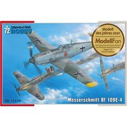 Messerschmitt Bf 109E-4 - 1/72 kit