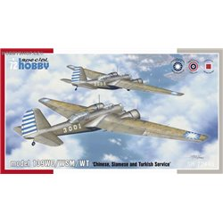 model 139WC/WSM/WT 'Chinese, Siamese and Turkish Service' - 1/72 kit