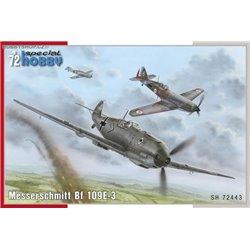 Messerschmitt Bf 109E-3 - 1/72 kit