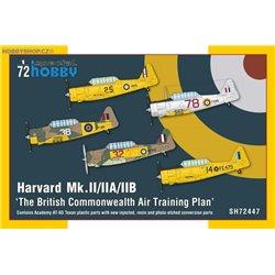 Harvard Mk.II/IIA/IIB 'The British Commonwealth Air Training Plan' - 1/72 kit