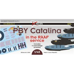 PBY-5 Catalina in the RAAF service - 1/48 decals