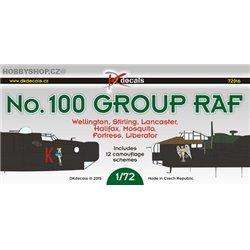 No.100 Group RAF - 1/72 decals
