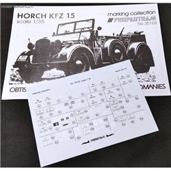 Horch Kfz. 15 - 1/35 decal