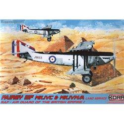 Fairey IIIF RAF-Land Service - 1/72 kit