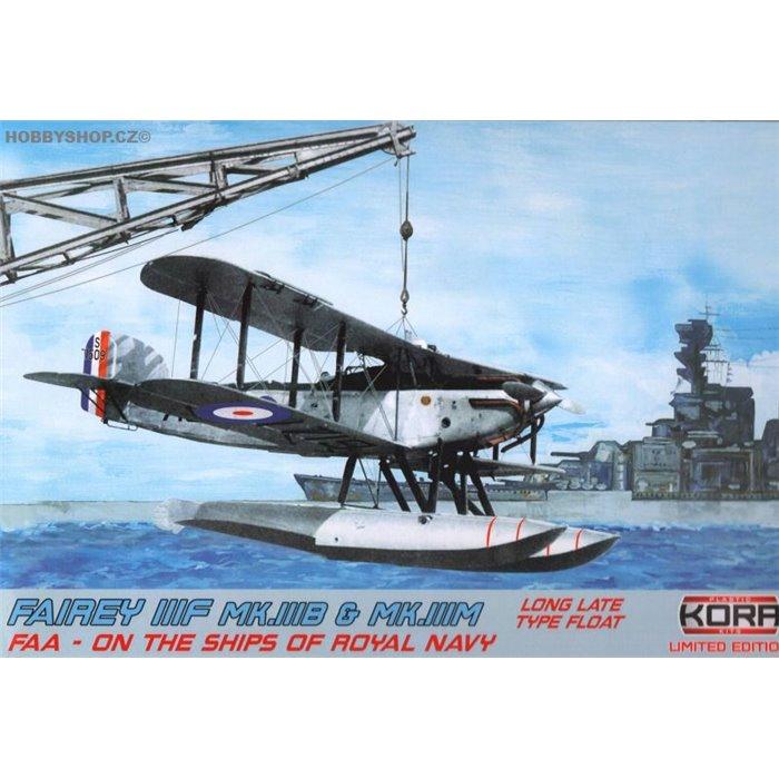Fairey IIIF FAA on the ships - 1/72 kit
