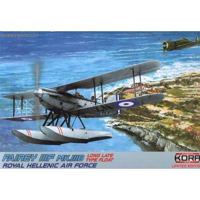 Fairey IIIF Royal Helenic A.F. - 1/72 kit
