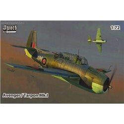Avenger / Tarpon Mk.I - 1/72 kit