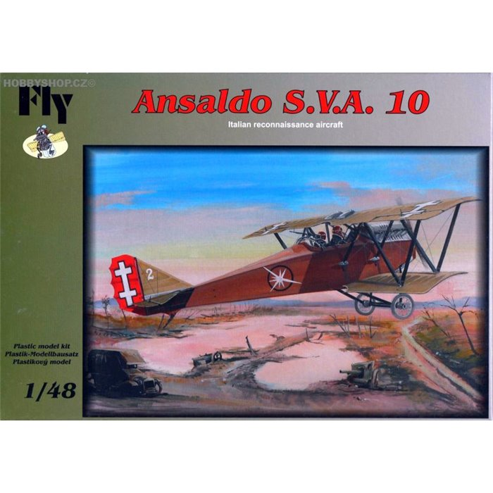 Ansaldo S.V.A. 10 - 1/48 kit