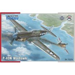 P-40N Warhawk - 1/72 kit