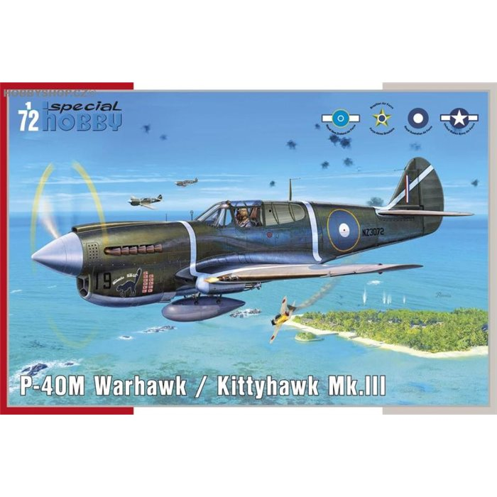 P-40M Warhawk - 1/72 kit