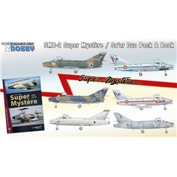 SMB-2 Super Mystere Duo Pack & Book - 1/72 kit